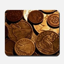 Old Coins Mousepad