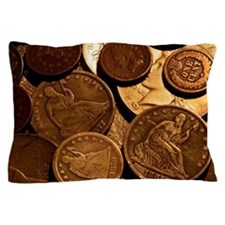 Old Coins Pillow Case