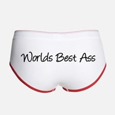 Worlds Best Ass Women's Boy Brief