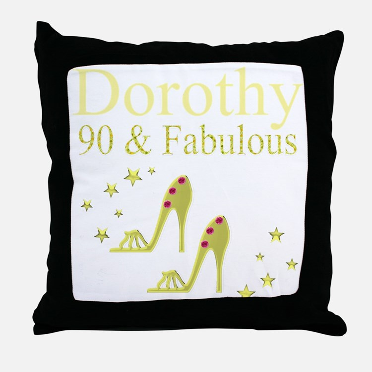 90TH CELEBRATION Throw Pillow
