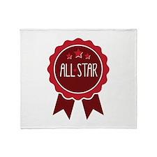All Star Throw Blanket