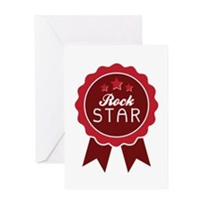 Rock Star Greeting Cards