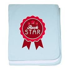 Rock Star baby blanket