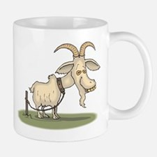Cartoon Funny Old Goat Mug