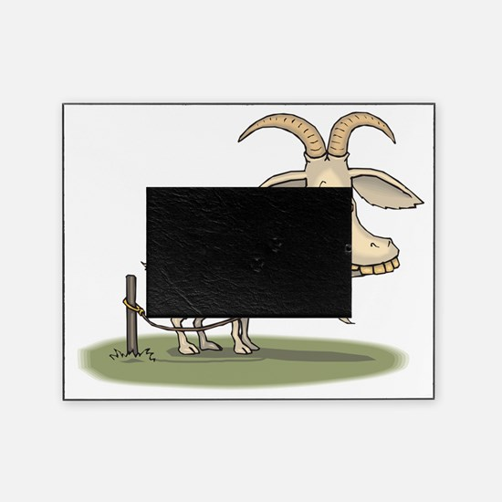 Cartoon Funny Old Goat Picture Frame