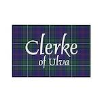 Tartan - Clerke of Ulv Rectangle Magnet (100 pack)