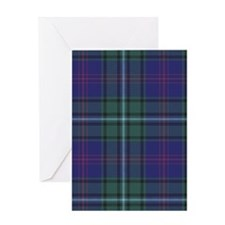 Tartan - Clerke of Ulva Greeting Card