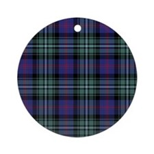 Tartan - Clerke of Ulva Ornament (Round)