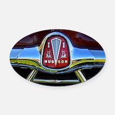 Vintage Hudson Oval Car Magnet