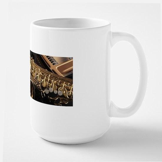 Saxophone And Piano Mugs