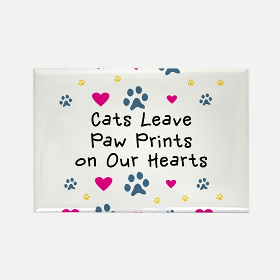 cats-leave-paw-prints-k Magnets