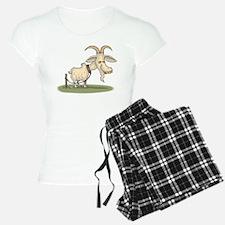 Cartoon Funny Old Goat Pajamas