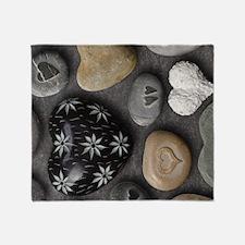 Love Stones Throw Blanket