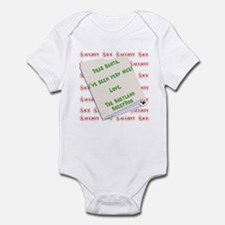 Sheltie Nice Infant Bodysuit
