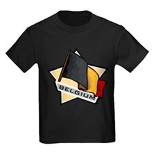 """""""Belgium Star Flag"""" T"""