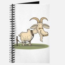 Cartoon Funny Old Goat Journal