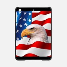 Bald Eagle On American Flag iPad Mini Case