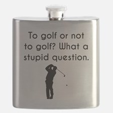 To Golf Or Not To Golf Flask