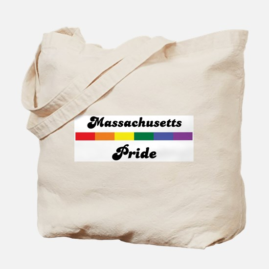 Massachusetts pride Tote Bag