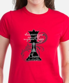 Womens Black Or Red T-Shirt