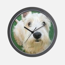 Cute Westie Wall Clock