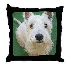 Cute Westie Throw Pillow