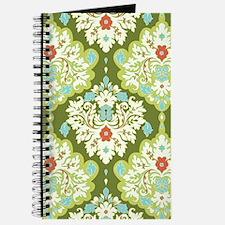 Unique Damask wedding Journal