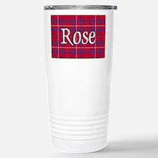 Tartan - Rose Travel Mug