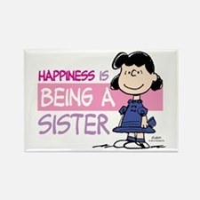 Happiness Is Being A Sister Rectangle Magnets