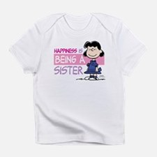 Happiness is being a Sister Infant T-Shirt