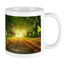 Autumn Road Mugs