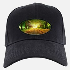 Autumn Road Baseball Hat