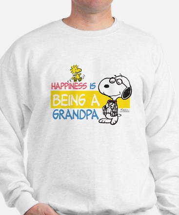 Happiness is being a Grandpa Sweater