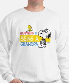 Happiness is being a Grandpa Sweatshirt
