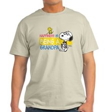 Happiness is being a Grandpa Light T-Shirt
