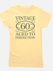 60th Birthday Vintage Girl's Tee