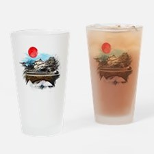 Funny Tokyo Drinking Glass