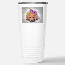ByCatiaCho Doxie Pup Travel Mug