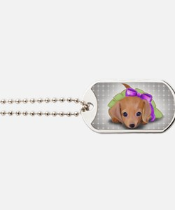 ByCatiaCho Doxie Pup Dog Tags