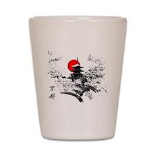 Kyoto Temple Shot Glass