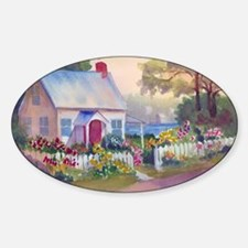 Boothbay Area Cottage Decal
