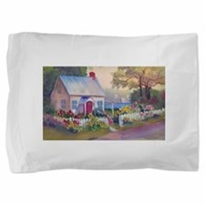 Boothbay Area Cottage Pillow Sham
