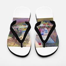 Boothbay Area Cottage Flip Flops