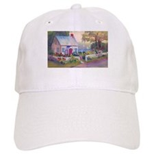 Boothbay Area Cottage Baseball Cap