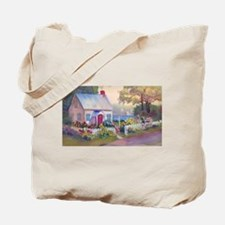 Boothbay Area Cottage Tote Bag