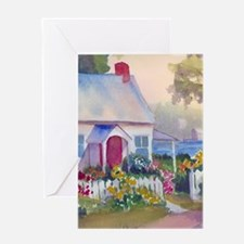 Boothbay Area Cottage Greeting Cards