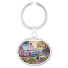 Boothbay Area Cottage Keychains