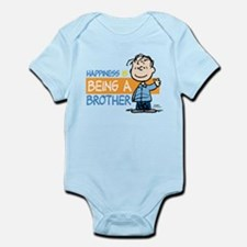 Happiness is being a Brother Infant Bodysuit