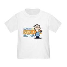 Happiness is being a Brother Toddler T-Shirt