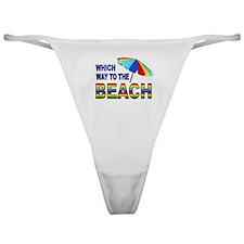BEACH SEARCH Classic Thong